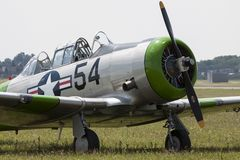 The North American Aviation T-6 Texan Stock Image