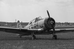 The North American Aviation T-6 Texan Stock Photography