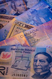 North American Currency Stock Photography