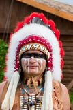 North American Indian Royalty Free Stock Image