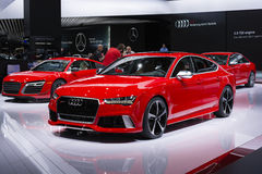 North American International Auto Show 2015 Royalty Free Stock Image