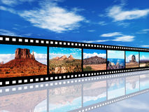 North American Landscapes Royalty Free Stock Photography