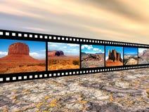 North American Landscapes royalty free illustration