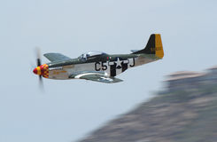North American P-51 Mustang Stock Image