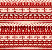 North american pattern. Indigenous north american style vector seamless pattern Stock Photo