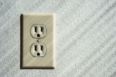 North American power outlet Royalty Free Stock Image