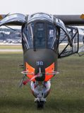 The North American Rockwell OV-10 Bronco Stock Photography