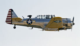 North American T-6 Texan Royalty Free Stock Photography