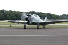 North American T-6G Texan Royalty Free Stock Images