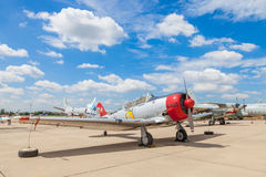 North American T-6 Texan Royalty Free Stock Photos