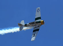 North American AT6 Texan Royalty Free Stock Photo