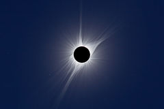 North American Total Solar Eclipse 2017 royalty free stock photos