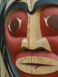 North American Totem Pole Stock Images