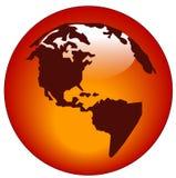 North american web button Stock Photo