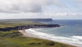 North Antrim Coastline. The Antrim coastline in Northern Ireland royalty free stock photos