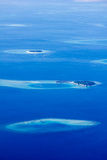 North Ari Atolls in Maldives royalty free stock images