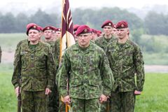 Lithuanian NATO soldiers. The North Atlantic Treaty Organization, also called the North Atlantic Alliance, is an intergovernmental military alliance between 29 royalty free stock photography