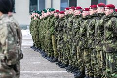 NATO soldiers on ceremony. The North Atlantic Treaty Organization, also called the North Atlantic Alliance, is an intergovernmental military alliance between 29 stock photography