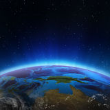 North Australia and Oceania. Elements of this image furnished by NASA Royalty Free Stock Image