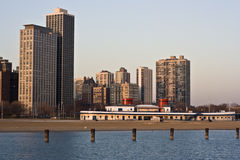 North Avenue Beach Stock Images