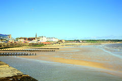 North bay, Bridlington, Yorkshire. Royalty Free Stock Image