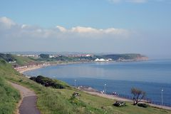North Bay View of Scarborough Royalty Free Stock Photography