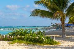 North Beach. Isla Mujeres, Mexico Royalty Free Stock Photos