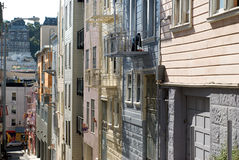North Beach Alley San Francisco Royalty Free Stock Photo