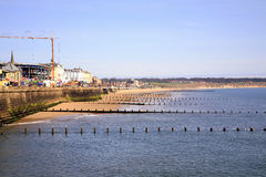 North beach, Bridlington, Yorkshire. Stock Photos