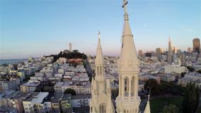 Aerial San Francisco stock footage