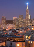 North beach district in San Francisco Royalty Free Stock Images