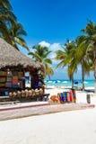 North Beach on Isla Mujeres. Yucatan, Mexico Royalty Free Stock Image