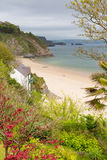 North beach Tenby Wales Royalty Free Stock Photos