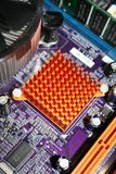 North Bridge Chipset Heatsink Stock Images
