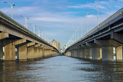 North Bridge in Harbin, Heilongjiang Province. Eastphoto, tukuchina, North Bridge in Harbin, Heilongjiang Province, City, scenery stock photography