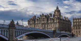North Bridge,Old Town,Edinburgh,Scotland Royalty Free Stock Images