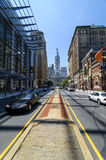 North Broadway View of City Hall in Philadelphia Stock Photography
