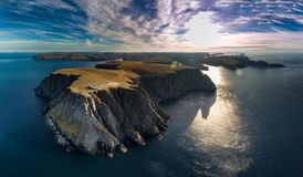 North Cape aerial royalty free stock photos