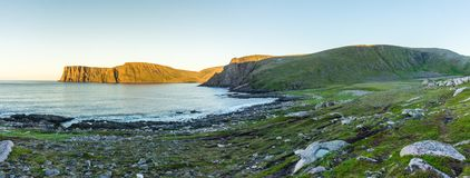 North Cape, the famous tourist attraction, Finnmark, Norway Stock Images