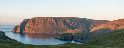 North Cape, the famous tourist attraction, Finnmark, Norway Stock Photos