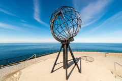 North Cape in Finnmark, Northern Norway. Stock Photography