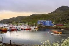 North cape island Stock Photo