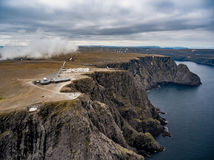 North Cape Nordkapp aerial photography, Stock Photos