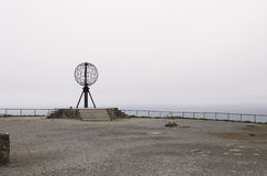 North Cape in Norway. The Famous North Cape in Norway Stock Photos