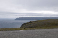 North Cape in Norway. Royalty Free Stock Photo