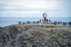 North cape summer landscape, Norway. Nordkapp/ North cape summer landscape, Norway Stock Photos
