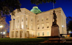 Free North Caroina State Capitol Building, West Portico Stock Photos - 13530533