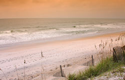 North Carolina beach at morning Stock Photo