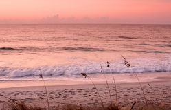 North Carolina beach at morning Stock Photos