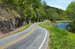 North Carolina Byway Stock Images